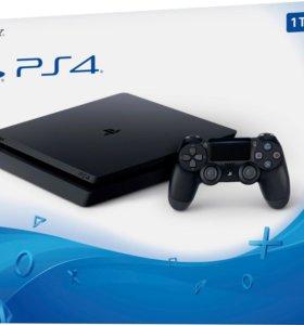PS4 slim 1tb+гарантия