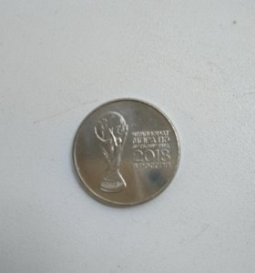 Монета 25руб.чемп мира по футболу