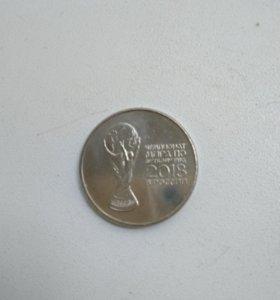 Монеты чемп мира по футболу