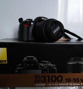 зеркальный фотоопорат NIKON D3100
