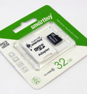 32GB SmartBuy MicroSDHC (Transflash) class 10