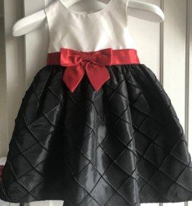 Нарядное платье для девочки 12-18 мес