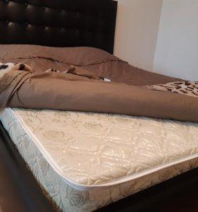 Кровать из кожи новая от производителя в упаковках