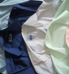 Пять рубашек школьных.