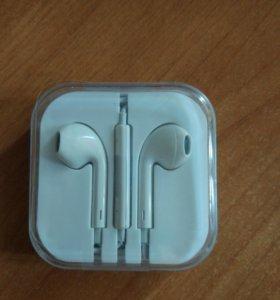 Наушники, гарнитура Apple