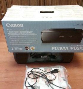 Цветной принтер Canon ip 1800