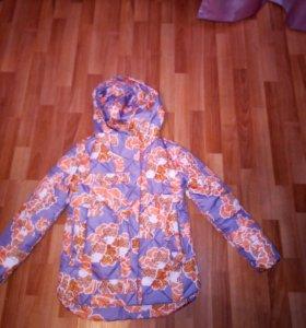 Куртка фабричная, новая, межсезонная, теплая