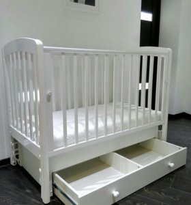 Кроватка (Гандылян) + матрас премиум-класса
