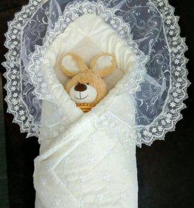 Одеяло-конверт зимнее (на овчине)
