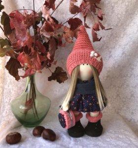 текстильная кукла тильда 🍏