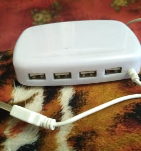 USB переходник на 4 порта