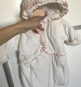 Конверт комбинезон для новорождённого