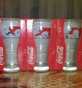 Стаканы Кока-кола с мишками