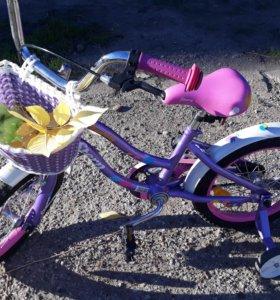 Велосипед для девочки от6 до 9 лет