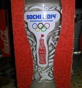 Стакан Кока-кола Сочи-2014.