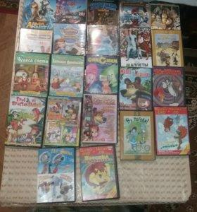 DVD диски ( мультики)