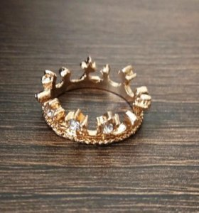 Кольцо Корона 👑 новое