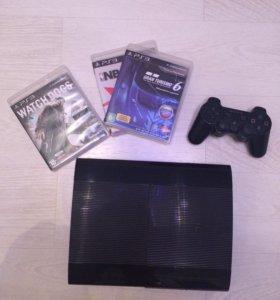 PS3 1 Tb + игры