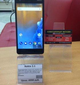 Nokia 2.1 (Яблочный Пирог)
