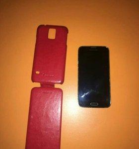 Телефон Самсунг S5