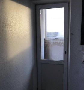Пластиковая дверь трёх камерный пакет