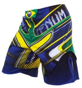 Шорты Venum Brazilian Hero Yellow Blue Green