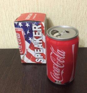 Портативная колонка CocaCola