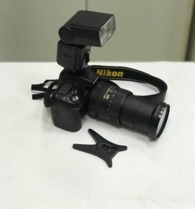 Nikon D90+Nikon 18-200mm+Acmepower TF-148APZ-N