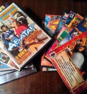 DVD диски для детей (15 шт)
