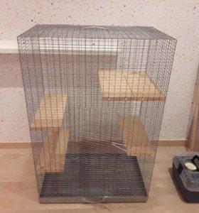 Большая клетка для крыс (любых грызунов) или птиц