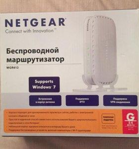 Беспроводной маршрутизатор Netgear WGR612