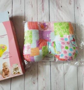 Ортопедическая подушка для детей до года (новая)