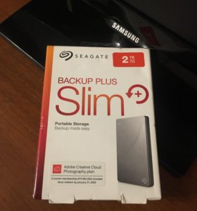 внешний жёсткий диск Seagate 2 TB