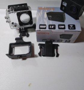 Крутая экшн камера Sport HD1080p