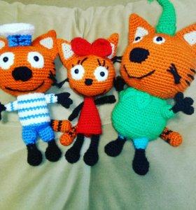 Три кота. Любимы герои ручной работы