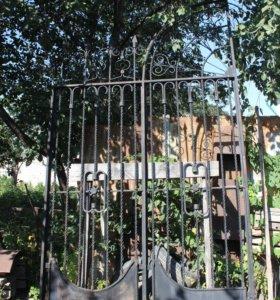 Дворовые ворота