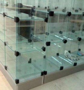 Кубики стеклянные