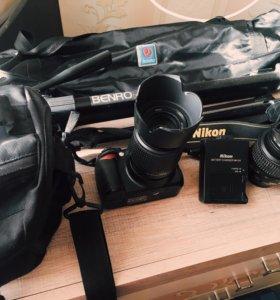 Фотоаппарат Nikon d3100, +комплект