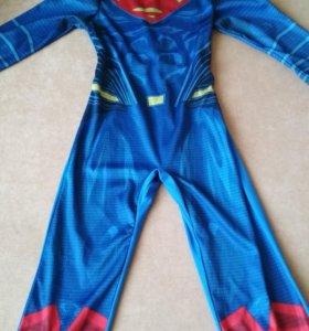 Новогодний костюм. Супергея. Супермен.