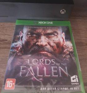 Диск на Xbox one X
