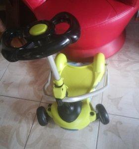 Самокат детский четырёх колёсный