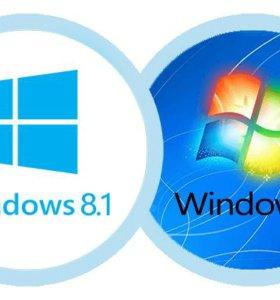 Установка ос Windows и еще не много