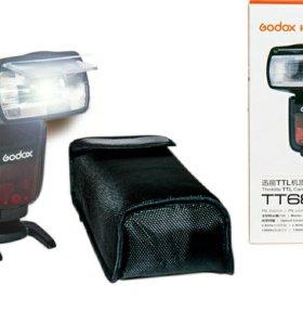 Вспышка для Sony Godox TT685s новая