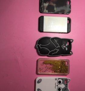 Чехлы на iPhone 5s SE