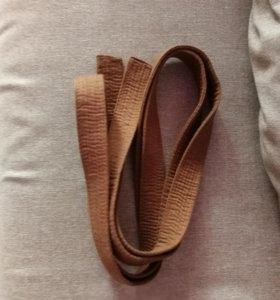 Пояс коричневый