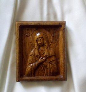 Иконы из дерева ручной работы