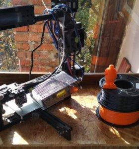 Анет 3d принтер Prusa i3 Анет A3 черный