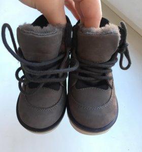 Детские ботиночки на зиму