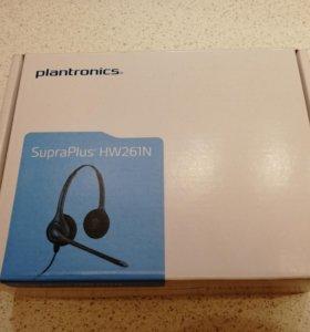 Гарнитура Plantronics SupraPlus HW261N - Новая.