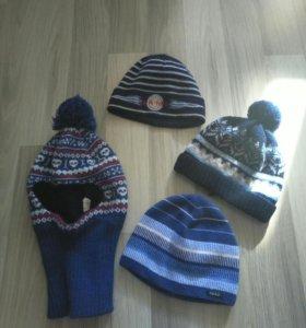 шапки на мальчика